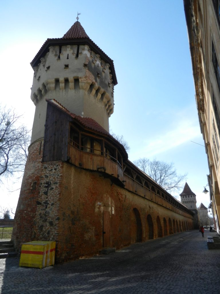 Carpenters' Tower in Sibiu, Romania