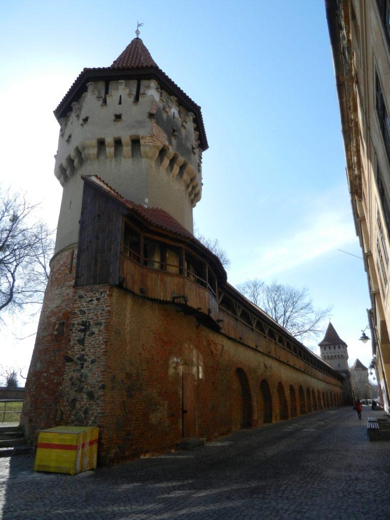 Carpenters' Tower in Sibiu, Romania