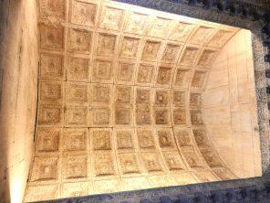 Ceiling Temple of Jupiter, Split, Croatia
