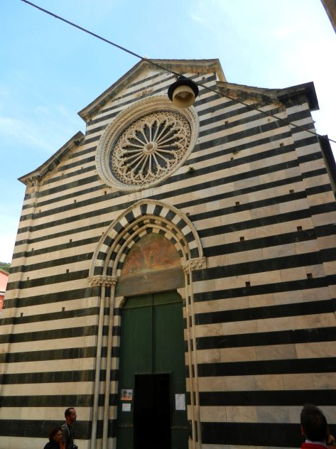 Church of St. John the Baptist, Monterosso, Cinque Terre, Italy