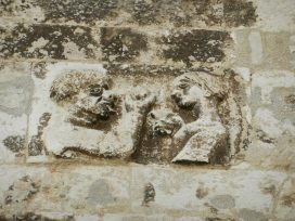 Unknown carving, Split