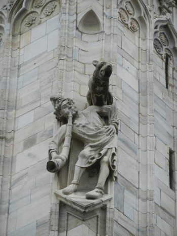 Gargoyles, Milan Cathedral, Italy