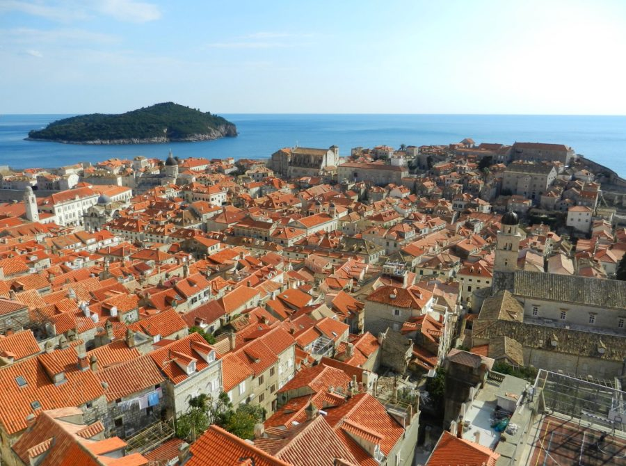 Dubrovnik from Above, Croatia