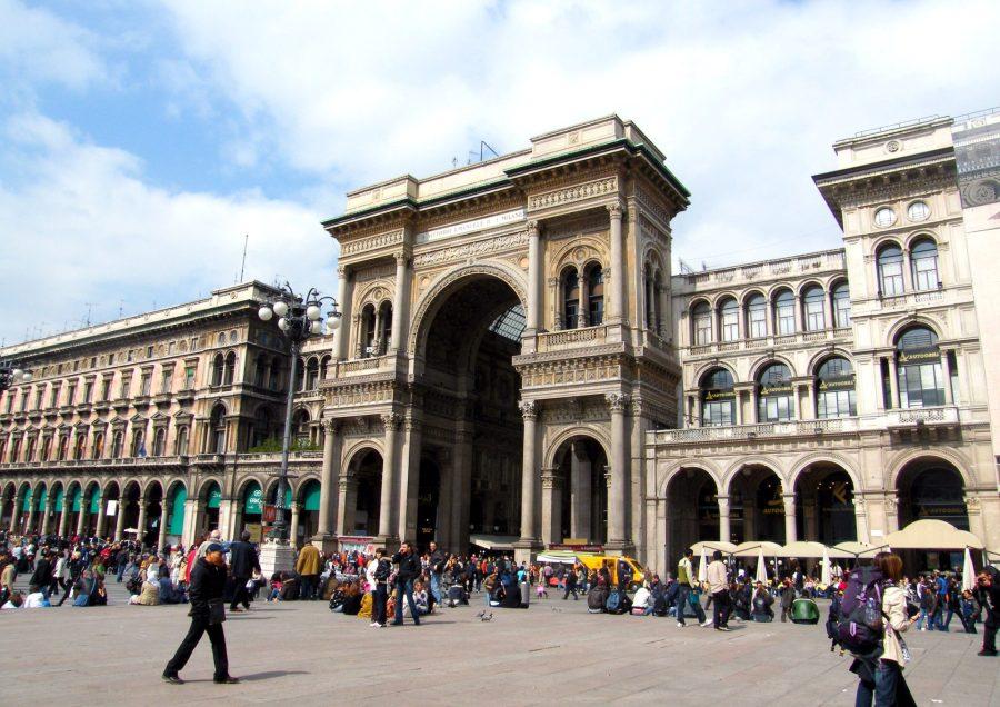 Galleria Vittorio Emanuele II Triumphal Arch