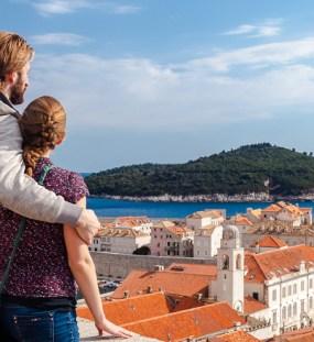 Behind the Battlements of Dubrovnik