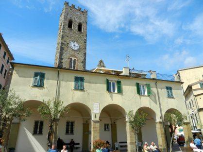 Monterosso Clock Tower, Cinque Terre, Italy