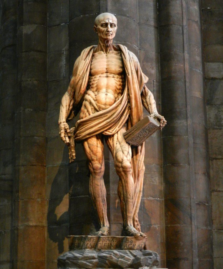 Saint Bartholomew Flayed, Milan Cathedral, Italy