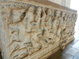 Roman Sarcophagus, Camposanto Monumentale, Pisa, Italy