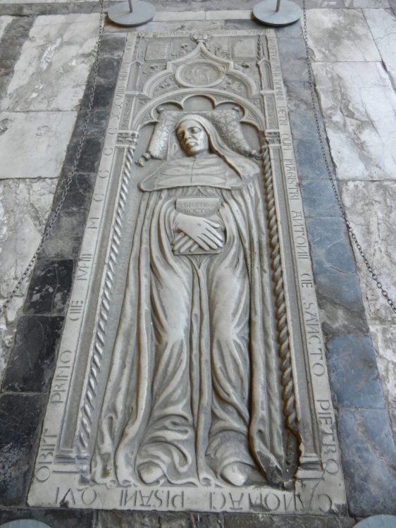 Tomb, Camposanto Monumentale, Pisa, Italy