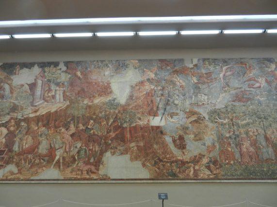 Mural, Camposanto Monumentale, Pisa, Italy