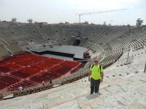 Fred in Roman Arena, Verona