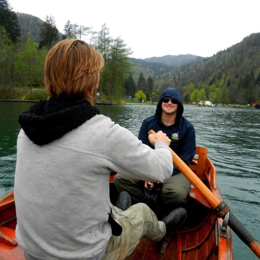 Boat, Lake Bled, Slovenia