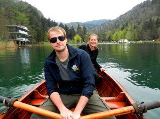 Rowboat, Lake Bled, Slovenia