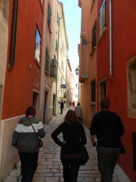Streets of Rovinj, Istria, Croatia