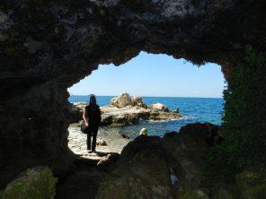 Sea cave, Rovinj, Istria, Croatia