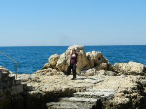 Swimming terrace Rovinj, Istria, Croatia