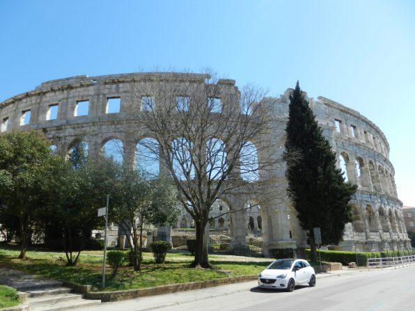 Pula Arena, Istria, Croatia