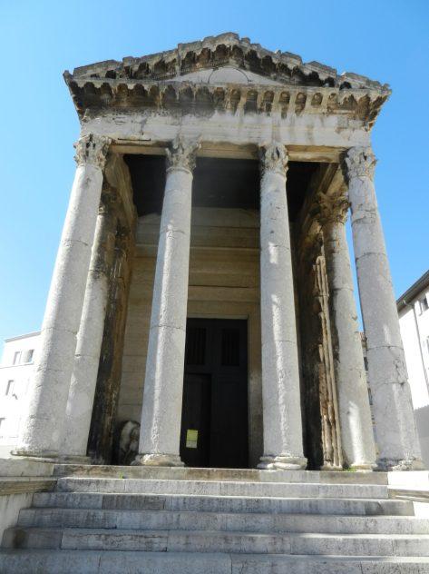 Temple of Augustus, Pula, Istria, Croatia