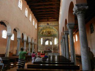Main Chapel, Euphrasian Basilica, Porec, Croatia