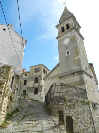 Church of St. John the Baptist, Motovun, Istria, Croatia