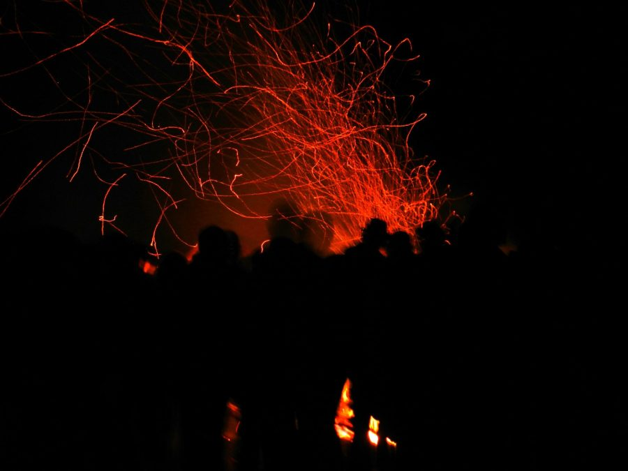 Walpurgisnacht on Holy Mountain, Heidelberg, Germany