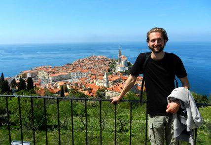 Views from the Wall, Piran, Slovenia