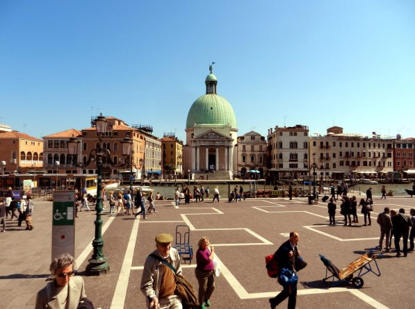 First Steps into Venice, Italy