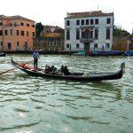 Gondola driver, Grand Canal, Venice, Italy