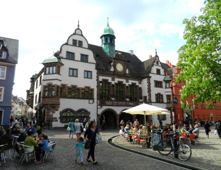 New town hall, Freiburg