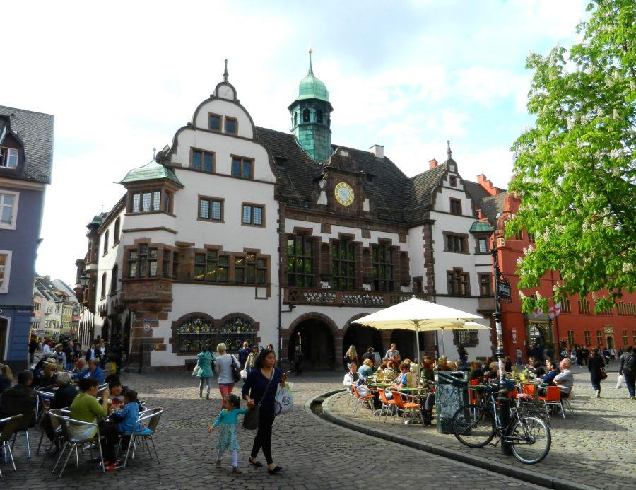 New town hall, Freiburg