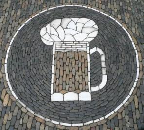 Beer mug mosaic, Freiburg