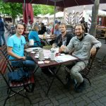 Beer Garden, Nuremberg, Germany
