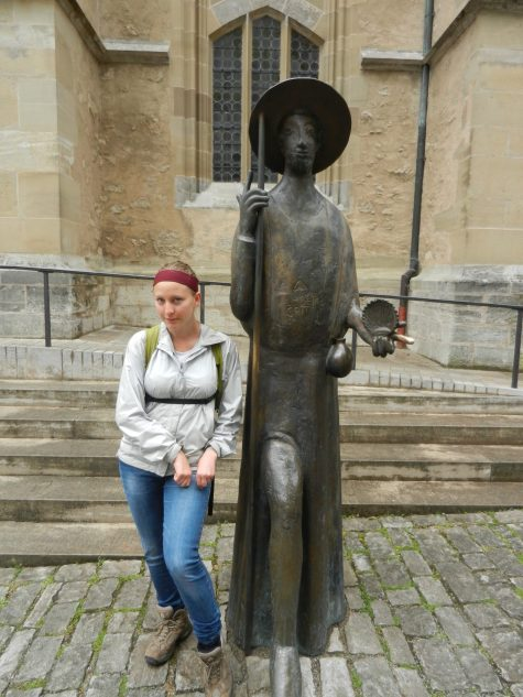 Statue of St. Jakon, Rothenburg, Germany