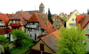 from-the-wall-rothenburg-germany