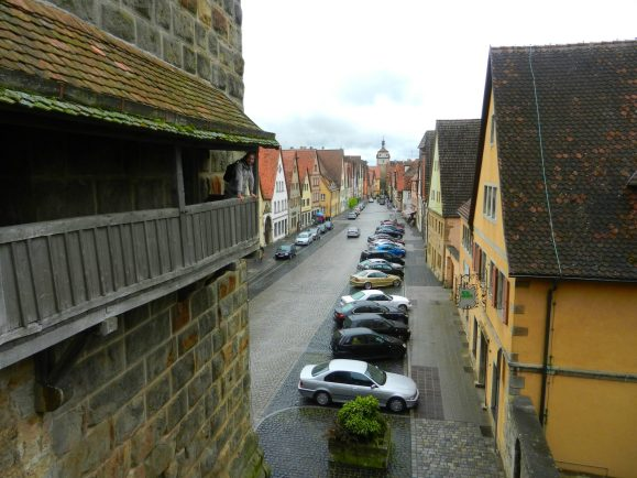 on-the-wall-rothenburg-germany