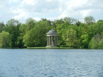 Temple of Apollo, Nymphenburg, Munich, Germany