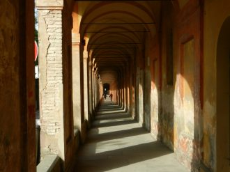 Porticoes up to the Sanctuary of the Madonna di San Luca