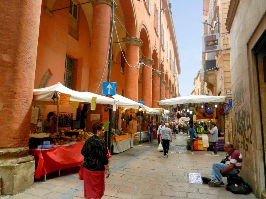 Market, Bologna, Italy