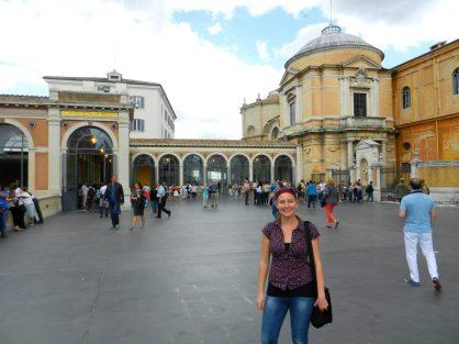 Ashleigh, Vatican Museum, Italy