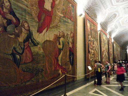 Gallery of Arazzi, Vatican, Italy