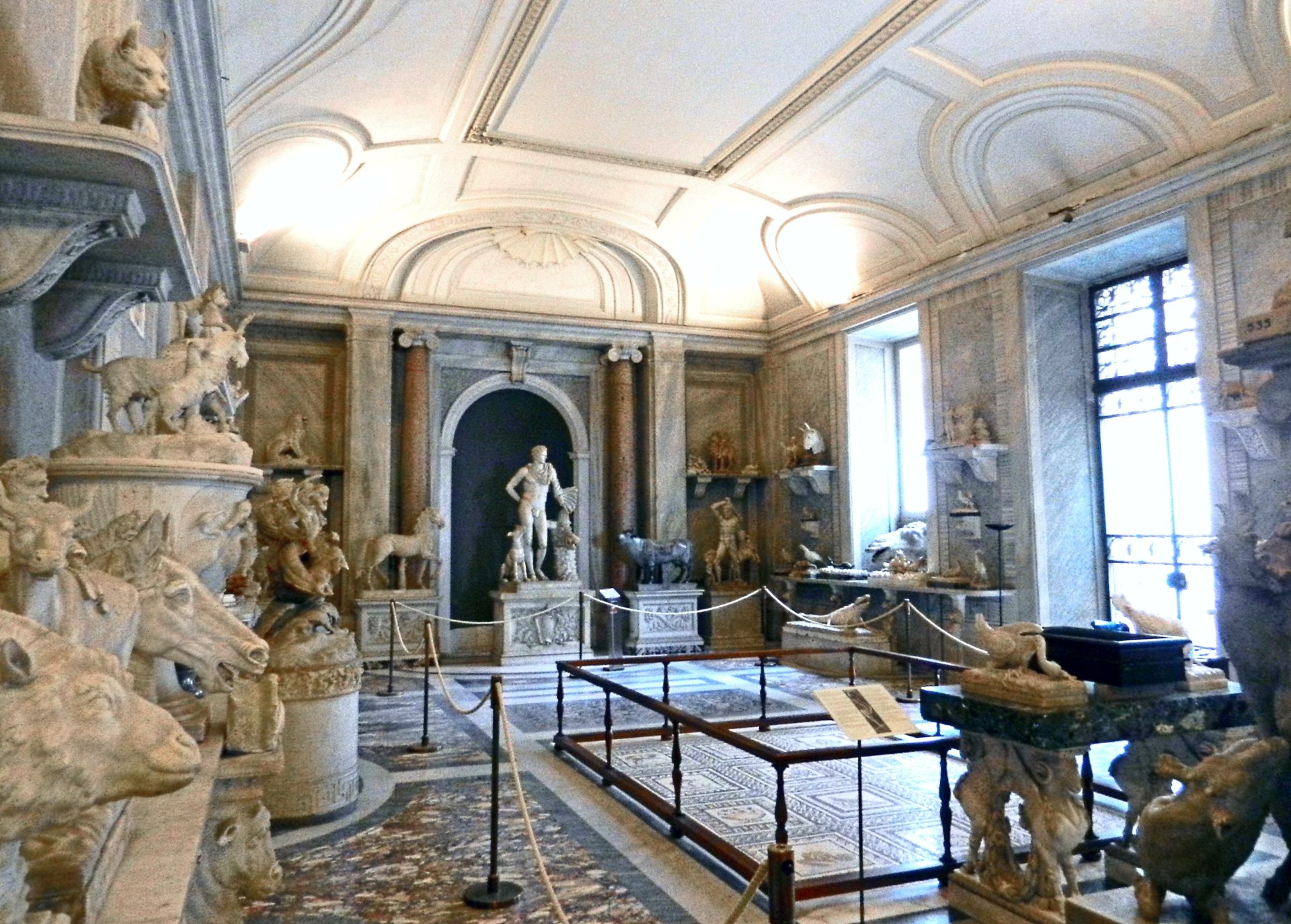 Hall of Animals PioClementino Museum Vatican Italy