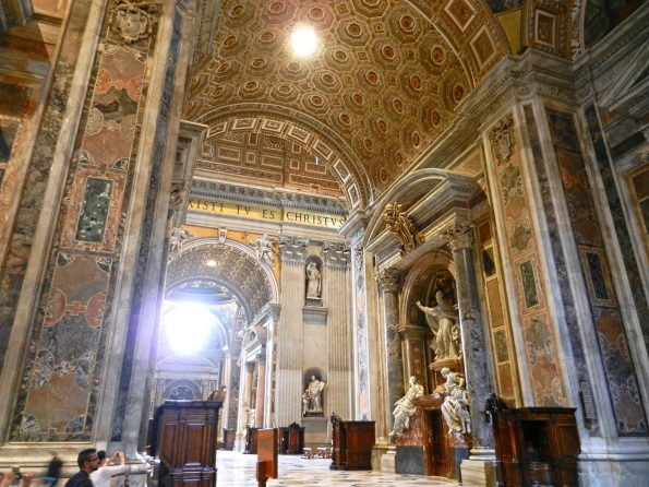 In Peter's Basilica, Vatican, Italy
