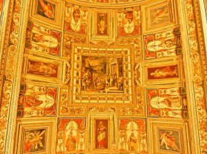 Map Gallery Ceiling, Vatican Italy