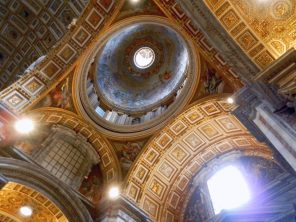Small Dome in St. Peter's Basilica, Vatican, Italy