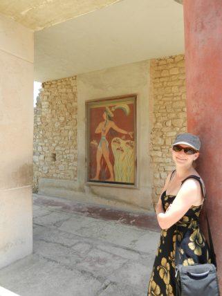 Ashleigh, Prince of the Lilies, Knossos,. Crete, Greece