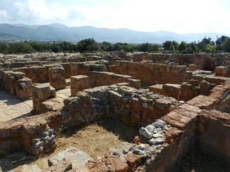 Minoan palace of Malia, Crete, Greece