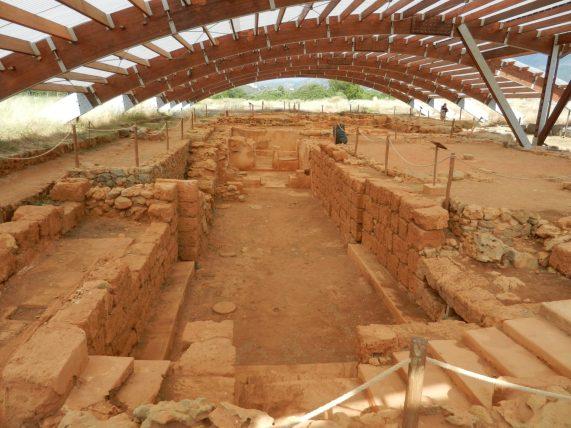 Malia Agora and Crypt, Crete, Greece