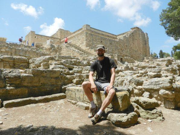 Nathanael, Knossos, Crete, Greece