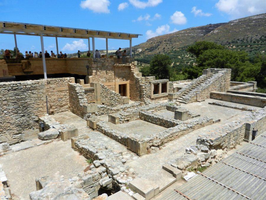Ruins of Knossos, Crete, Greece