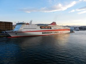 Minoan Lines, Port of Piraeus, Athens, Greece